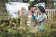 asian-prewed-bushey-rose-garden