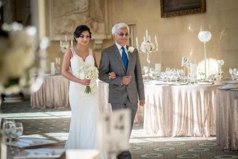 bride-entrance-civil-ceremony-woburn-wedding